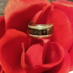 Spinner ring size 8